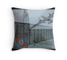 FOR FREEDOM SAKE Throw Pillow