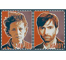 MILLER AND HARDY (2014) - Miller Orange Photographic Print