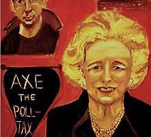 Margaret Thatcher by Rusty  Gladdish