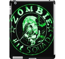 Zombie hit squad Inc. Green iPad Case/Skin