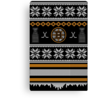 Ugly Boston Sweater Canvas Print