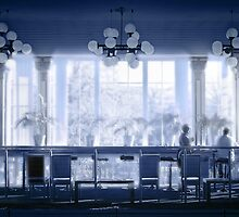 Blue Cafe by Hilary Robertshaw