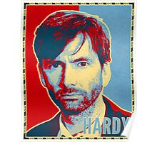 HARDY - RedYellowBlue (Broadchurch) Poster