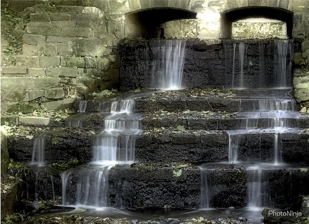 Waterfall by PhotoNinja