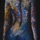 Shadowed woman in color by jamie joy