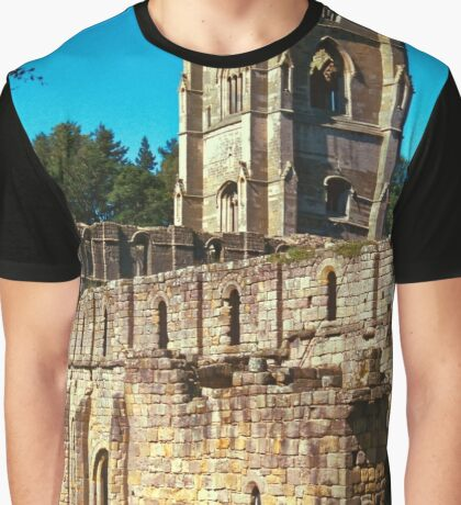 Fountains Abbey 8 Graphic T-Shirt