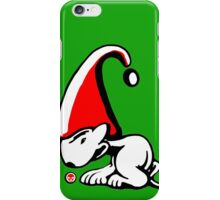 English Bull Terrier Gnome iPhone Case/Skin
