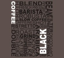 Black coffee...WORD!! Kids Clothes