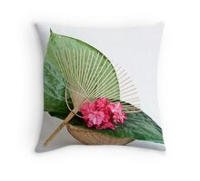 Ikebana-054 Throw Pillow