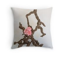 Ikebana-037 Throw Pillow