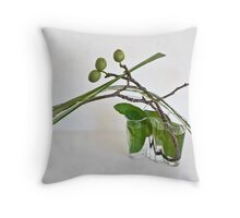 Ikebana-010 Throw Pillow