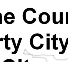 Cities of GTA T-Shirt Sticker