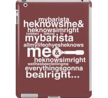 Barista Genesis iPad Case/Skin