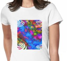 Paradise T-Shirt Design 1 Womens Fitted T-Shirt