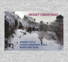 Back Braes in the Snow - Christmas Card Kids Clothes