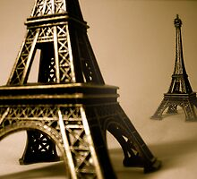 The Eiffel Tower by Pamela Maxwell