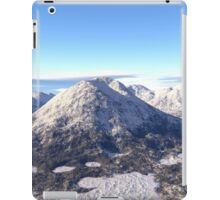 Snowy Volcano Mountain iPad Case/Skin