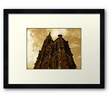Strasbourg Cathedral - From Below Framed Print