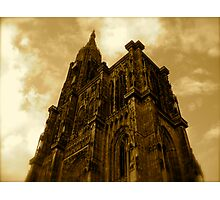 Strasbourg Cathedral - From Below Photographic Print
