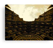 Strasbourg Cathedral - Above Door Canvas Print