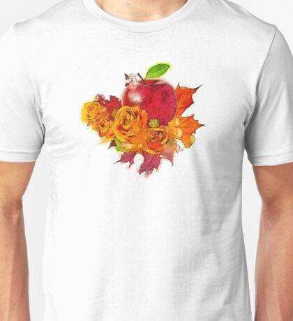 Apple Rose Unisex T-Shirt