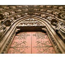 Strasbourg Cathedral - Door Photographic Print