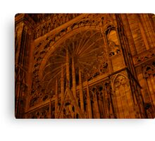 Strasbourg Cathedral - Grand Window Canvas Print