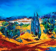 A Sunny Day in Provence by Elise Palmigiani