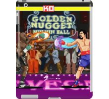 Boxing Legends: Money vs Pacman iPad Case/Skin