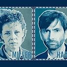 MILLER AND HARDY (2014) - Broadchurch Green (Card) by ifourdezign