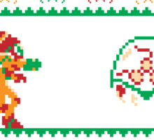 We Wish You A Metroid Christmas! Sticker