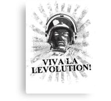 Viva la levolution! Canvas Print