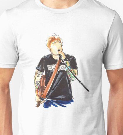 Ed Sheeran drawing Unisex T-Shirt