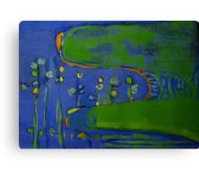 Neon Kingfishers Canvas Print