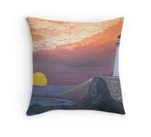 Day of Night Throw Pillow