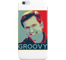 Bruce Campbell - Groovy iPhone Case/Skin