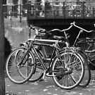Bikes in black and white by Manuel Gonçalves