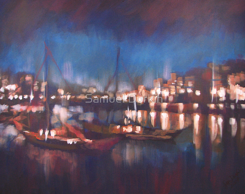 Evening Harbor by Samuel Durkin