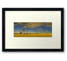 Urbia Framed Print