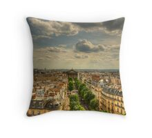 Paris Vista Throw Pillow