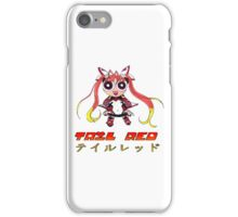 Tail Red Powerpuff iPhone Case/Skin