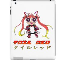 Tail Red Powerpuff iPad Case/Skin