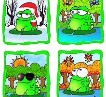 Frog For All Seasons by Crockpot