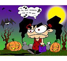 Olive's Halloween Photographic Print