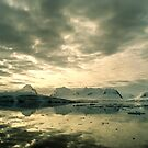 Antarctic Sunset by Steve Bulford