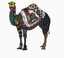 Camel Zentangle Kids Clothes