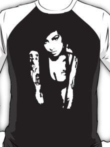 Stencil Amy Winehouse T-Shirt