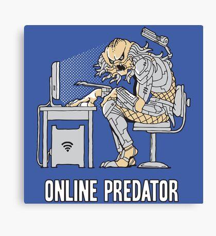 Online Predator Canvas Print