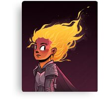 Fire Kid Canvas Print
