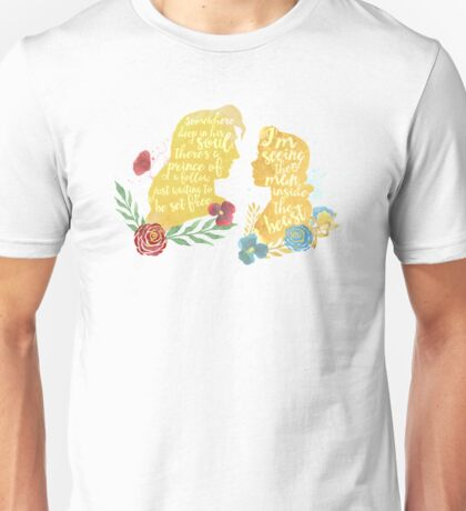 beast and the beauty Unisex T-Shirt